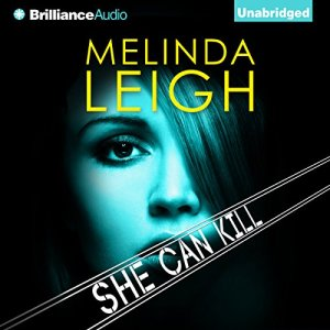 She Can Kill audiobook cover art