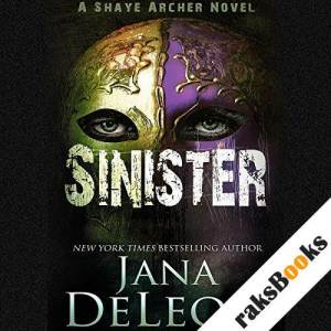 Sinister audiobook cover art