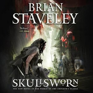 Skullsworn audiobook cover art