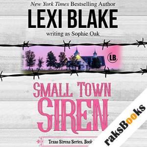 Small Town Siren audiobook cover art