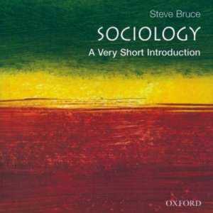 Sociology: A Very Short Introduction audiobook cover art