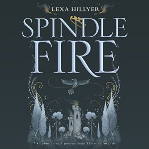 Spindle Fire audiobook cover art