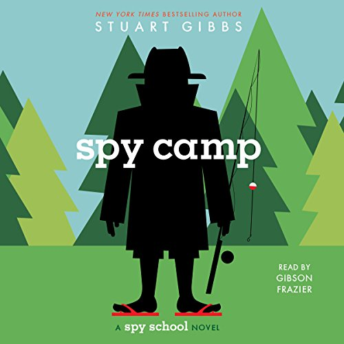 Spy Camp audiobook cover art