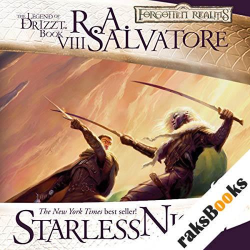 Starless Night audiobook cover art