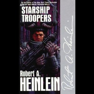 Starship Troopers audiobook cover art