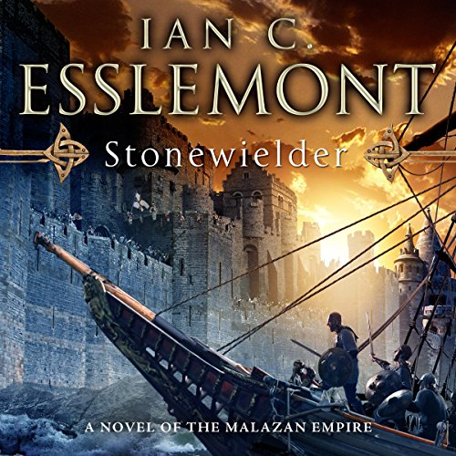 Stonewielder audiobook cover art