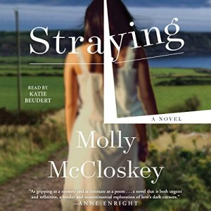 Straying audiobook cover art