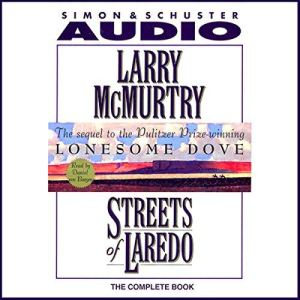 Streets of Laredo audiobook cover art