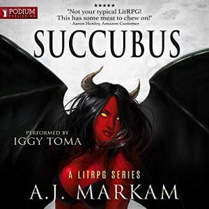 Succubus audiobook cover art