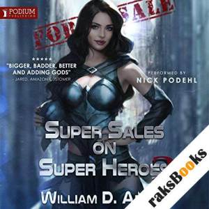 Super Sales on Super Heroes audiobook cover art