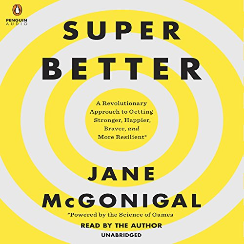 SuperBetter audiobook cover art