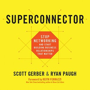 Superconnector audiobook cover art