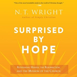Surprised by Hope audiobook cover art