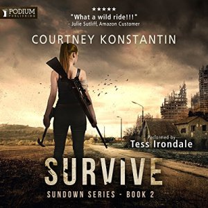 Survive audiobook cover art