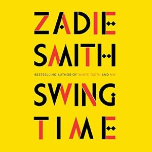 Swing Time audiobook cover art