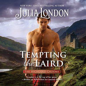 Tempting the Laird audiobook cover art