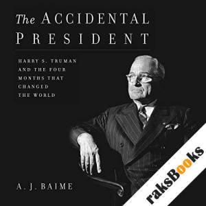 The Accidental President audiobook cover art