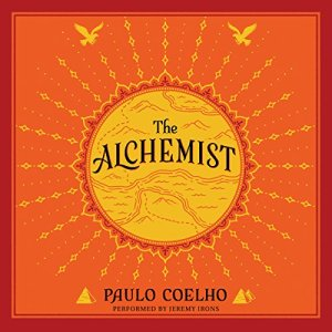 The Alchemist audiobook cover art