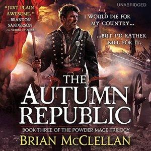 The Autumn Republic audiobook cover art