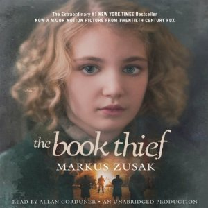 The Book Thief audiobook cover art