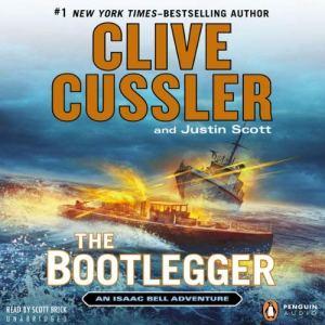 The Bootlegger audiobook cover art