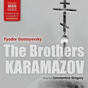 The Brothers Karamazov [Naxos AudioBooks Edition] audiobook cover art