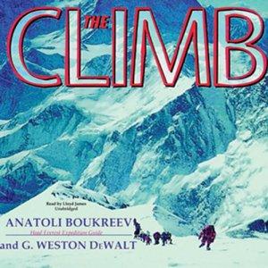 The Climb audiobook cover art