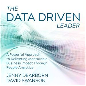 The Data Driven Leader audiobook cover art