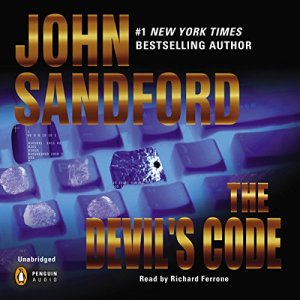 The Devil's Code audiobook cover art