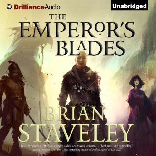 The Emperor's Blades audiobook cover art