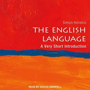 The English Language audiobook cover art