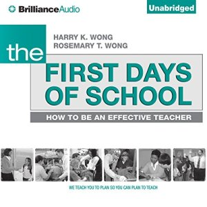 The First Days of School audiobook cover art