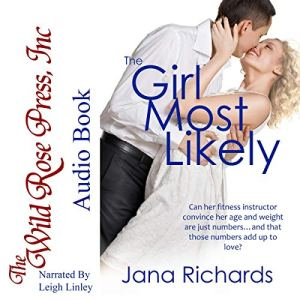 The Girl Most Likely audiobook cover art