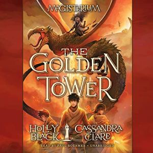 The Golden Tower audiobook cover art
