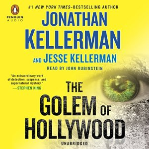 The Golem of Hollywood audiobook cover art