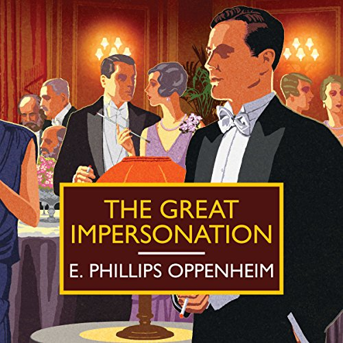 The Great Impersonation audiobook cover art