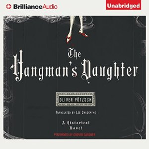 The Hangman's Daughter audiobook cover art