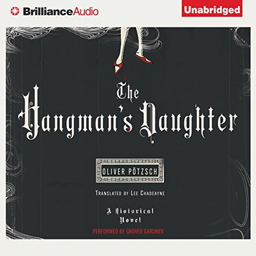 The Hangman's Daughter audiobook cover art