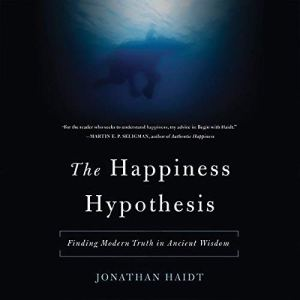The Happiness Hypothesis audiobook cover art