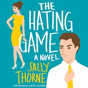 The Hating Game audiobook cover art