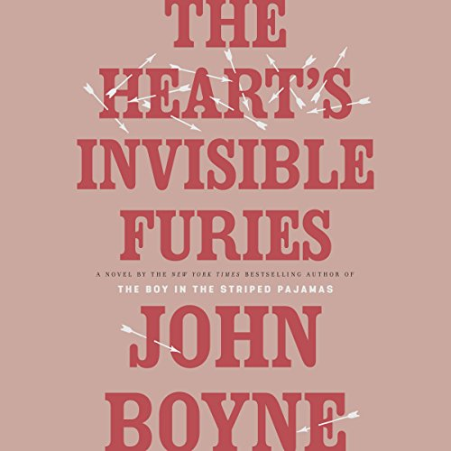 The Heart's Invisible Furies audiobook cover art