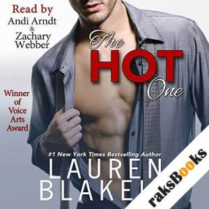 The Hot One audiobook cover art