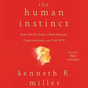 The Human Instinct audiobook cover art