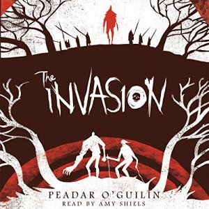 The Invasion audiobook cover art