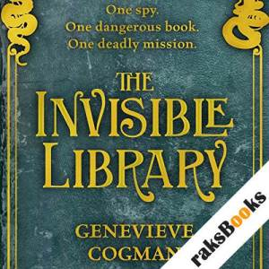 The Invisible Library audiobook cover art
