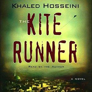 The Kite Runner audiobook cover art