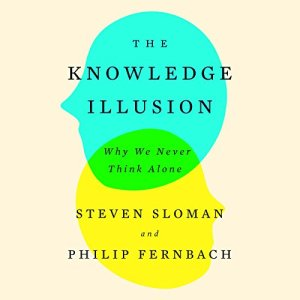 The Knowledge Illusion audiobook cover art