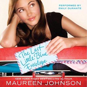 The Last Little Blue Envelope audiobook cover art