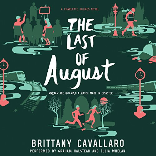 The Last of August audiobook cover art