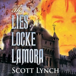 The Lies of Locke Lamora audiobook cover art